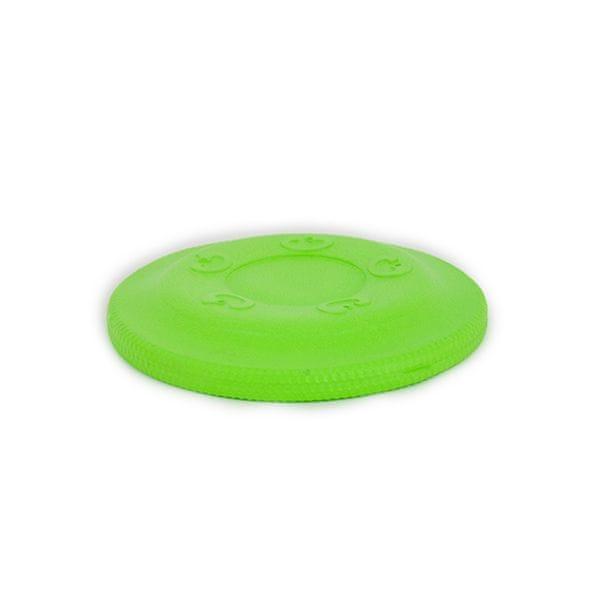 Akinu AQUA pěnové frisbee malé pro psy zelené