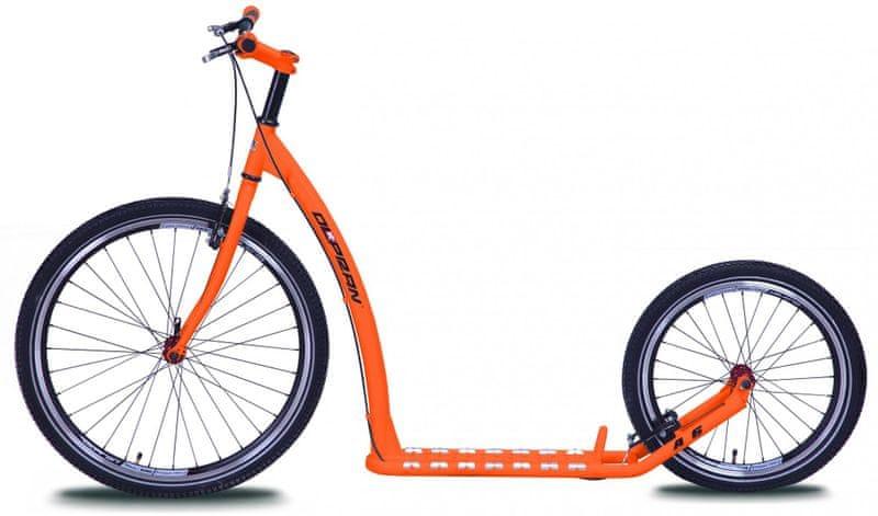 Olpran Koloběžka A6 oranžová