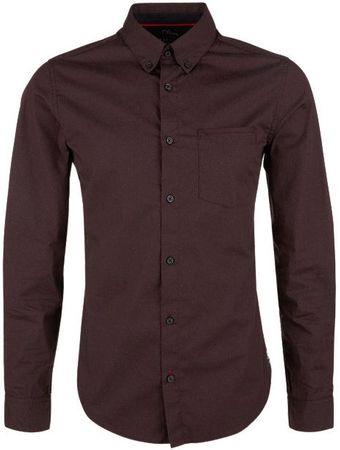 151792ac779 s.Oliver pánská košile XL vínová
