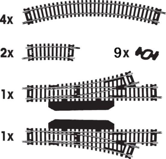 MEHANO garnitura HO tirov št. 1 (F101)