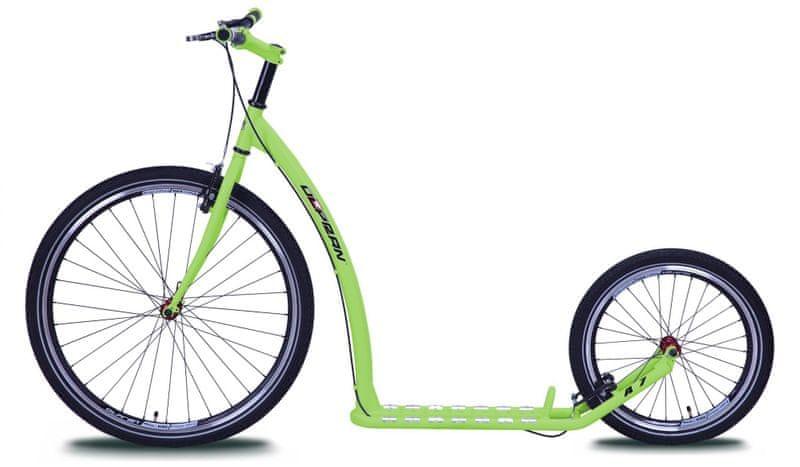 Olpran Koloběžka A7 zelená