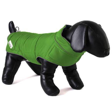 Doodlebone dwustronna kurtka dla psów Green/Orange roz. XS