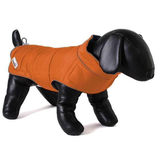 Doodlebone plašč za pse Green/Orange