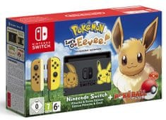 Nintendo igralna konzola Switch Let's Go, Eevee! Bundle