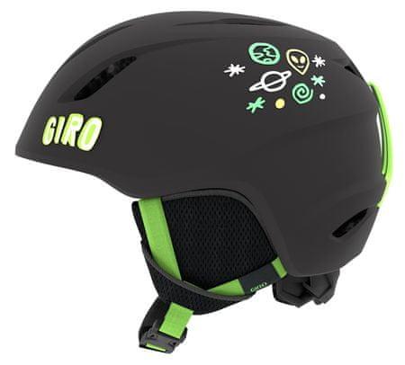 Giro Launch čierna/zelená XS