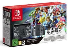 Nintendo igralna konzola Switch Super Smash Bros Ultimate Bundle