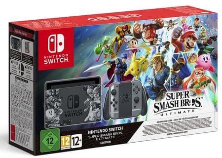 Nintendo igralna konzola Switch Super Smash Bros Ultimate Bundle