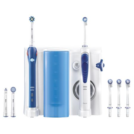 Oral-B električna zobna ščetka in prha Oxyjet+Pro2