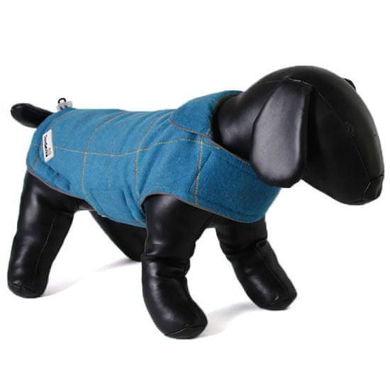 Doodlebone Kétoldalú kabát Tweedie Blue/Turquoi