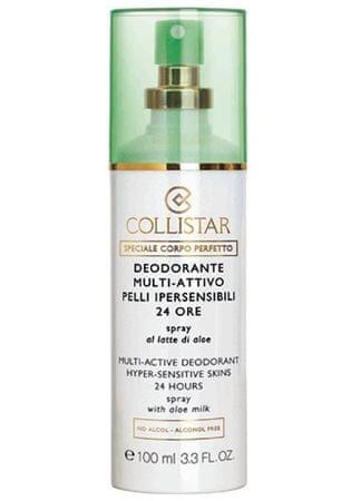 Collistar 24 órás dezodor spray érzékeny bőrre (Multi-dezodor Active Hyper-érzékeny bőrre 24 óra) 100 ml