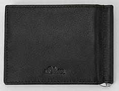 s.Oliver pánská černá peněženka