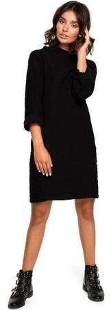 BeWear ženska obleka, črna, S