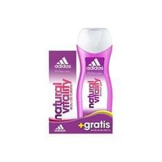 Adidas Natural Vitality - EDT 50 ml + sprchový gel 250 ml