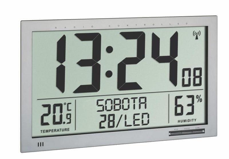 TFA Nástěnné DCF hodiny TFA 60.4517.54, velikost XL