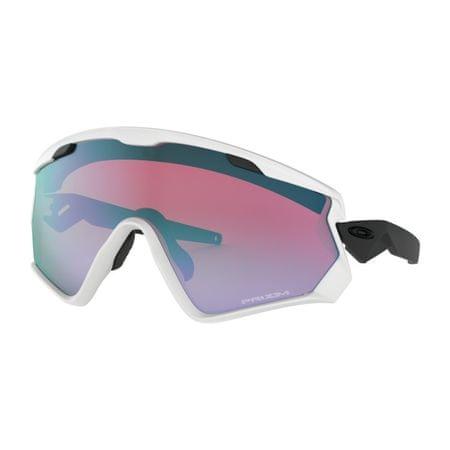 Oakley WJ 2.0 Matte White w/ PRIZM Snow Sapph