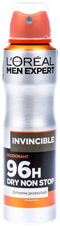 L'Oréal Deodorantrant v spreji pre mužov Men Expert Invincible 150 ml