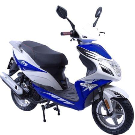 CLS MOTORCYCLE Skútr CLS OZZY 125i modrý