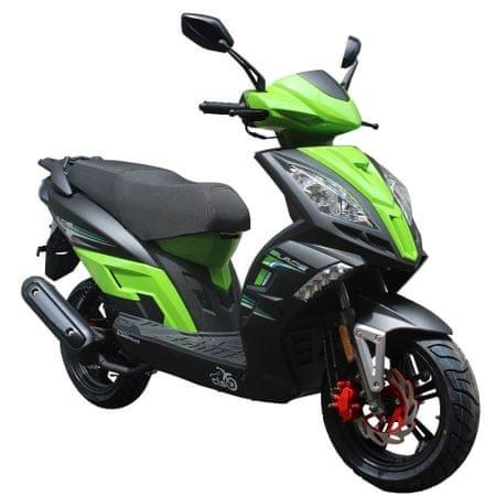 CLS MOTORCYCLE Skútr CLS BLADE 125 EFI zelený