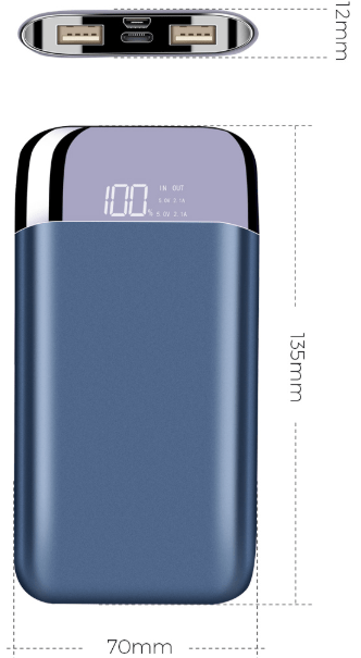 REMAX MyMAx MP10 PowerBank 10000mAh Black (EU Blister) 2440339