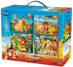 Jigsaw 4 Puzzles - Lion King