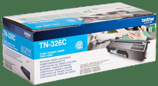 BROTHER toner TN-326C, cyjan (TN326C)