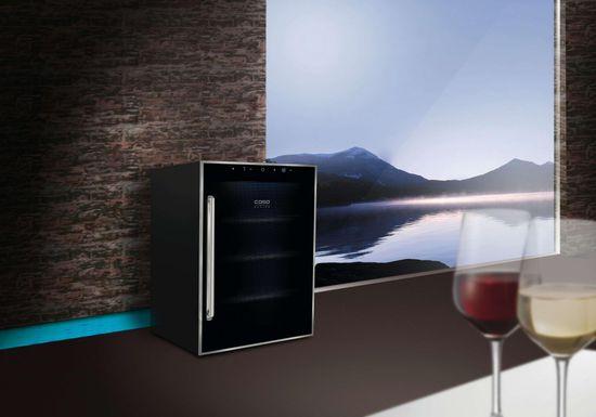 CASO vinotéka WineDuett Touch 12