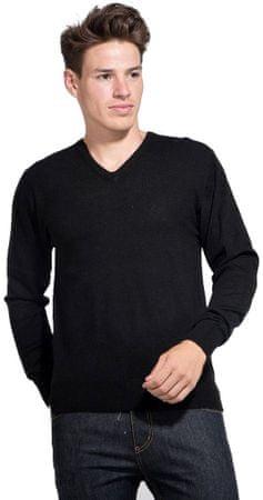 William de Faye pánský svetr M černá