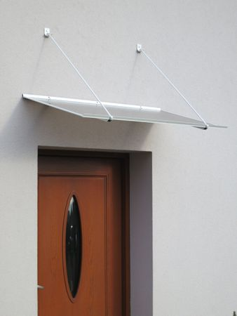 LanitPlast bejárati tető LANITPLAST SP1 120/70 fehér