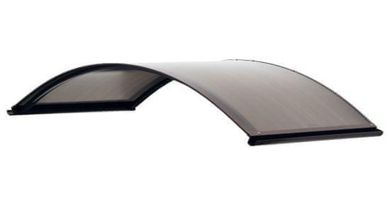 LanitPlast bejárati tető LANITPLAST ARCUS 160/70 barna