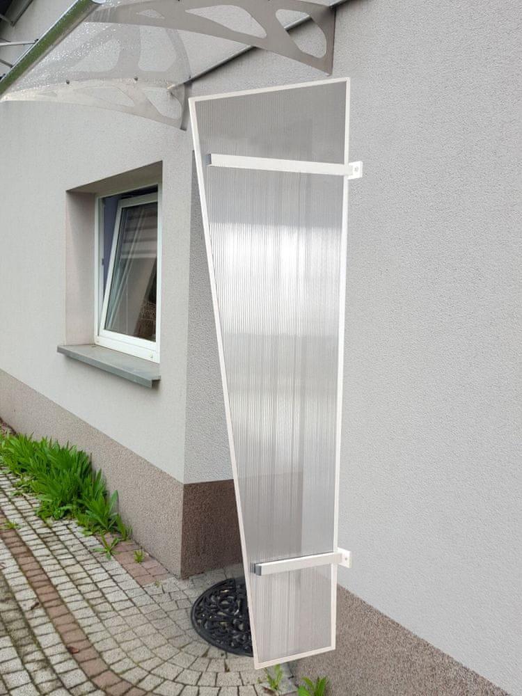 LanitPlast boční stěna LANITPLAST UNI bílá / PC