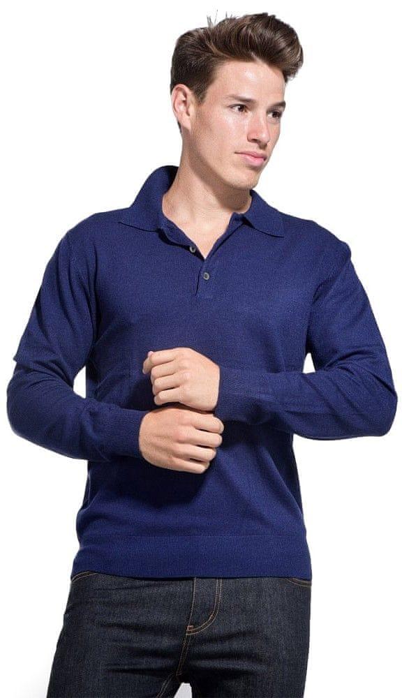William de Faye pánský svetr M tmavě modrá