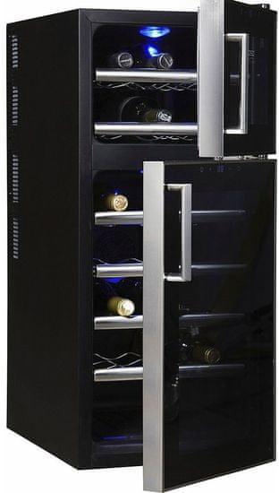 CASO vinotéka WineDuett Touch 21 - rozbaleno