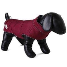 Doodlebone dwustronny płaszcz dla psów Raspberry/Navy