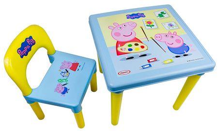 Stoleček se židličkou Peppa pig