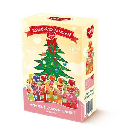 Hami Adventní kapsičky 6x90g vánoční balení