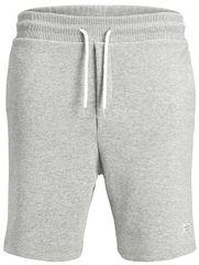 Jack&Jones Férfi nadrág Jorhouston Sweat Short az Noos Világos Grey Melange