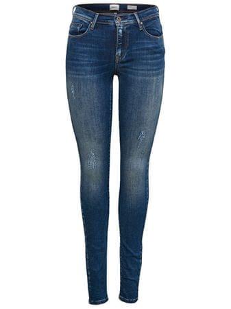 Dámské džíny Shape Reg SK DNM Jeans REA4488 Noos Dark Blue Denim 34