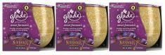 Glade Svíčka Sweet Fantasies 3 x 120 g
