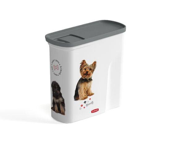 Curver kontejner na 1 kg suchého krmiva pro psy a kočky