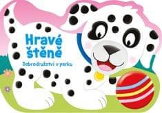 Sirný Aleš: Hravé štěně - Dobrodružství v parku