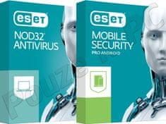 53221acba21e ESET NOD32 Antivirus OEM + ESET Mobile Security (Premium) pro 1 zařízení na  1