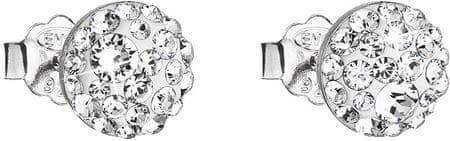 Evolution Group Kristály fülbevaló 31136.1 ezüst 925/1000