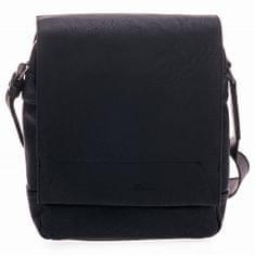 Tom Tailor moška naramna torbica Gordon, črna