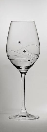 B. Bohemian GRAVITY 2 ks sklenice na bílé víno 360 ml