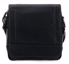 Tom Tailor moška torbica za čez ramena Derek, črna