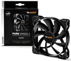 Be quiet! ventilator za ohišje Pure Wings 2, 120 mm, 4-pin PWM