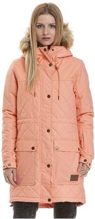 MEATFLY Női kabátSylva 2 Parka Apricot Heather (méret M)
