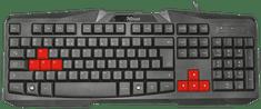 Trust Ziva Gaming Keyboard, CZ/SK (22116)