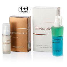 Herb Pharma Pigmentoceutical - biotechnologická emulze na pigmentové skvrny 30 ml + Pureceutical - dvojfázový či