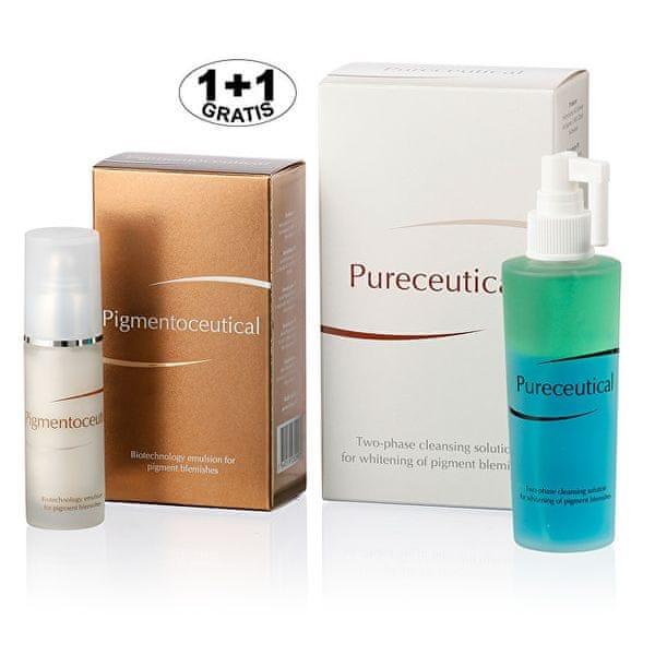 Herb Pharma Pigmentoceutical - biotechnologická emulze na pigmentové skvrny 30 ml + Pureceutical -